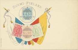 61-748 Suomi Finland Finnland Stamps Törn PC Before 1905 - Finland