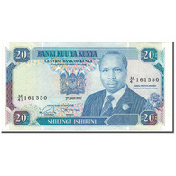 Billet, Kenya, 20 Shillings, 1992-01-02, KM:25e, SUP - Kenia