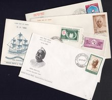 INDIA, 1965 FDCs 5 - Covers & Documents