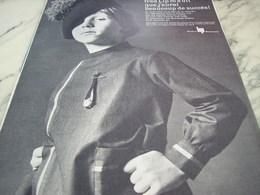 ANCIENNE PUBLICITE BEAUCOUP DE SUCCES MONTRE FRED  LIP  1964 - Habits & Linge D'époque
