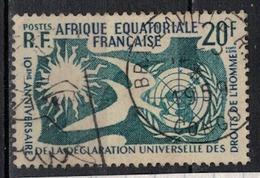 A E F        N°  YVERT   245      OBLITERE       ( O   3/ 43 ) - A.E.F. (1936-1958)