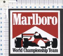 Sticker - Marlboro World Championship Team (2) - See The 2 Scans For Condition. ( Originalscan ) - Autocollants