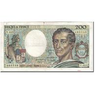 France, 200 Francs, 200 F 1981-1994 ''Montesquieu'', 1984, TB, Fayette:70.4 - 1962-1997 ''Francs''