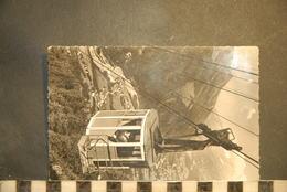 CP,74, LES HOUCHES MONT BLANC, Le Teleferique Des Houches à Bellevue - Les Houches