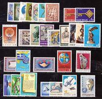 GREECE 1968 Complete All Sets MNH Vl. 1031 / 1060 - Griekenland
