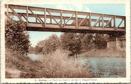 79 CERIZAY - Pont Du Chemin De Mfer à L'Appel Voisin - Cerizay
