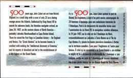 91729)  FDC CANADA 1997 EMISSIONE CONGIUNTA ITALIA CABOTO 1V - 1952-.... Règne D'Elizabeth II