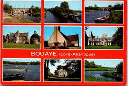 44 BOUAYE - Carte Souvenir Multivue - Bouaye