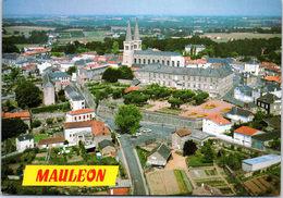 79 MAULEON - Centre Ville, église De La Trinité - Mauleon
