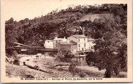 44 BOUSSAY - Barrage Et Moulin De Bapaume Sur La Sèvre - Boussay