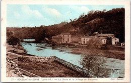 44 BOUSSAY SUR SEVRE - La Sèvre Et Le Village De Bapaume - Boussay