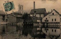 10 - TROYES - La Seine à Jaillard - Troyes