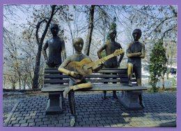 Kazakhstan 2015. Postcards. Almaty. Monument To The English Rock Band The Beatles. - Kazakhstan