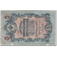 Billet, Russie, 5 Rubles, 1909, KM:35a, B+ - Russie