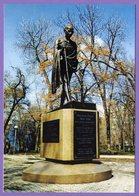 Kazakhstan 2015. Postcards. Almaty. Monument To  M. Gandhi. - Kazakhstan