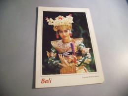 BELLE JEUNE FEMME  EN COSTUME TRADITIONNEL ....LEGONG KRATON DANCE - Indonésie