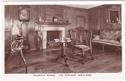 Sulgrave Manor - The Parlour (North Wing) - (Spinning Wheel)  - (Northamptonshire) - Northamptonshire