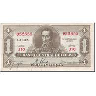 Billet, Bolivie, 1 Boliviano, 1928, 1928-07-20, KM:128a, SUP - Bolivie