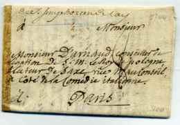Saint Symphorien De Lay ( Lenain N°1 Manuscrit ) / Dept 68 Rhône /1744 - Marcophilie (Lettres)