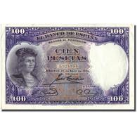 Billet, Espagne, 100 Pesetas, 1931, 1931-04-25, KM:83, TTB - [ 2] 1931-1936 : Republiek