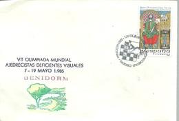 POSTMARKET   ESPAÑA 1985 - Ajedrez