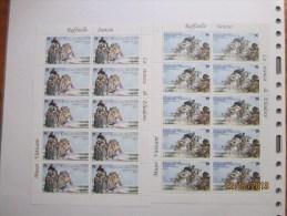 VATICANO 2011 MF 1584-85 CENT RAFFAELLO MNH ** - Blocs & Feuillets