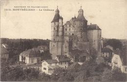 EXCURSION EN FRANCHE-COMTE .1212.. MONTBELLIARD .  LE CHATEAU  . ECRITE AU VERSO LE 21 JANV 1918 - Montbéliard