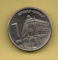 SERBIA - 1 DINARA 2003 KM34 - Servië