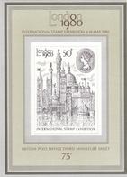 GB 1980, 835 Block 3, LONDON 1980. MNH ** - Blocks & Kleinbögen