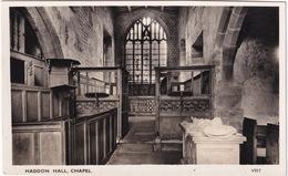 Haddon Hall, Chapel - (Derbyshire) - Derbyshire