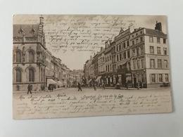 Carte Postale Ancienne  (1905) Courtrai La Rue De La Lys - Kortrijk
