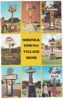 Norfolk - Town & Village Signs - Engeland