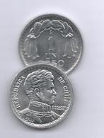 CHILE 1 PESO 1956 KM179 - Chile