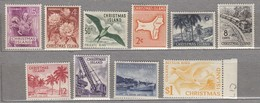 CHRISTMAS ISLAND 1963 Flowers Birds Transport Map MNH(**) Mi 11-20 #24112 - Christmas Island