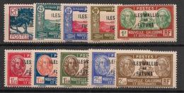 Wallis Et Futuna - 1939-40 - N°Yv. 77 à 86 - Série Complète - Neuf Luxe ** / MNH / Postfrisch - Wallis And Futuna