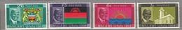 MALAWI 1964 Coat Of Arms Flags MNH(**) Mi 15-18 #24115 - Malawi (1964-...)