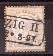 Allemagne - 1872 - N° 6 Oblitéré (petit écusson) - Oblitérés