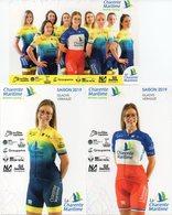 Cyclisme, Serie Charente Maritime Dames 2019 - Ciclismo