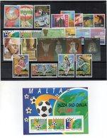 Malta - 1994 - Lotto 25 Francobolli + 1 Foglietto (Annata Completa) - Nuovi - Vedi Foto - (FDC14635) - Malte