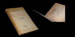 [ENVOI DEDICACE THEATRE] ADAMOV (Arthur) - La Parodie / L'Invasion. EO. - Livres Dédicacés