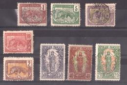 Congo Français - 1900/04 - Lot De Timbres Oblitérés - French Congo (1891-1960)