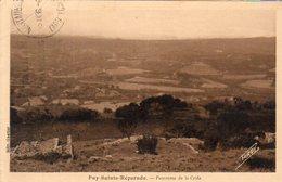 Dept 13,Bouches Du Rhône,Cpa Puy-Sainte-Réparade,Panorama De La Cride - Autres Communes