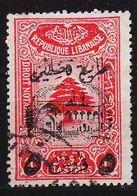 LIBANON LEBANON LIBAN [ZwangZuschl.] MiNr 0008 ( O/used ) [01] - Libanon