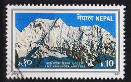 NEPAL [1987] MiNr 0486 ( O/used ) Landschaft - Nepal