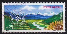 NEPAL [1994] MiNr 0568 ( O/used ) Landschaft - Nepal