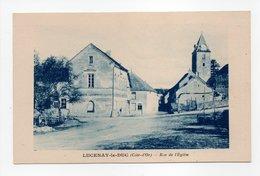 - CPA LUCENAY-LE-DUC (21) - Rue De L'Eglise - Edition Artistic - - France