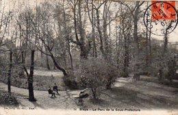 Dept 33,Gironde,Cpa Blaye,Le Parc De La Sous-Préfecture - Blaye