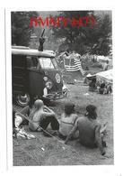 CPM - Combi VOLKSWAGEN - Powder Ridge Pop Festival - Léonard FREED - Edit Hazan Paris 1996 - Scans Recto-Verso - Turismo