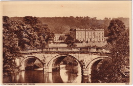 Chatsworth House And Bridge  - (Derbyshire) - Derbyshire