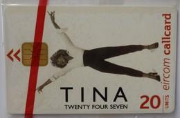 IRELAND - CallCard - Chip - 1276 - Tina Turner 2000 - Twenty Four Seven - 20 Units - Mint Blister - Irlanda
